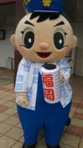 福岡県警シンボルマスコット「ふっけい君」