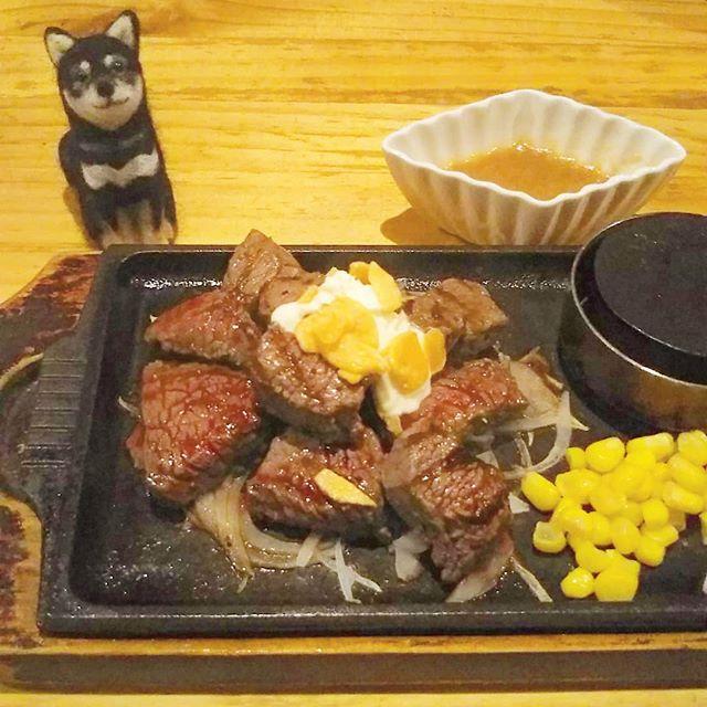 八女のステーキ屋「さかづき」でランチ!柔らかくて美味しかったです(^q^)