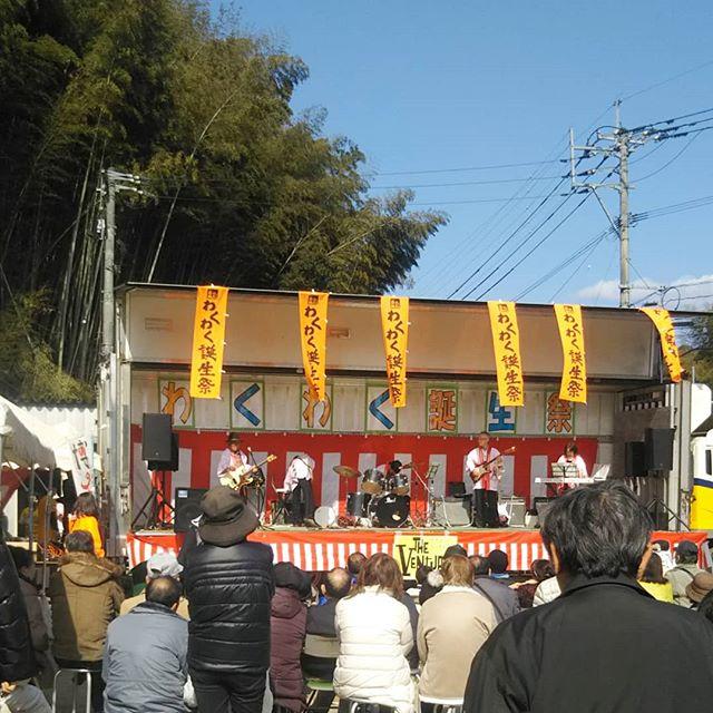 八女市道の駅たちばな。わくわく誕生祭!